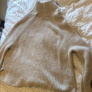comfy warm turtle neck sweater